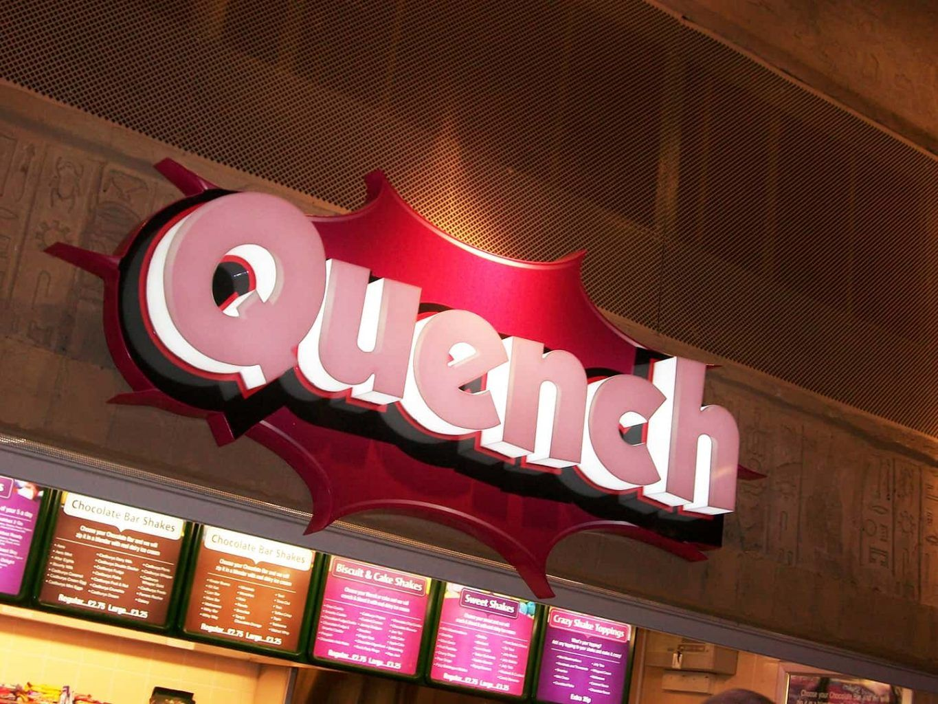 Quench - Built Up Lettering