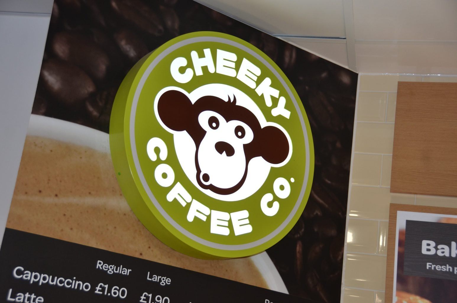 BUILT UP Cheeky Coffee LOGO