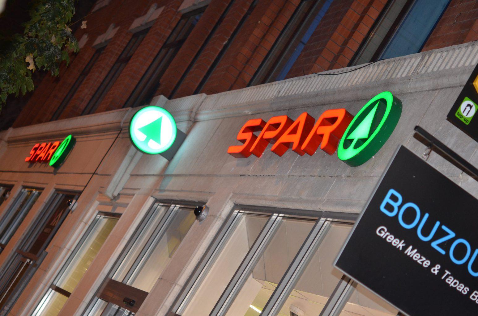BUILT UP SPAR EXCELLENCE SIGN