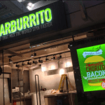 Barburrito LED illuminated sign