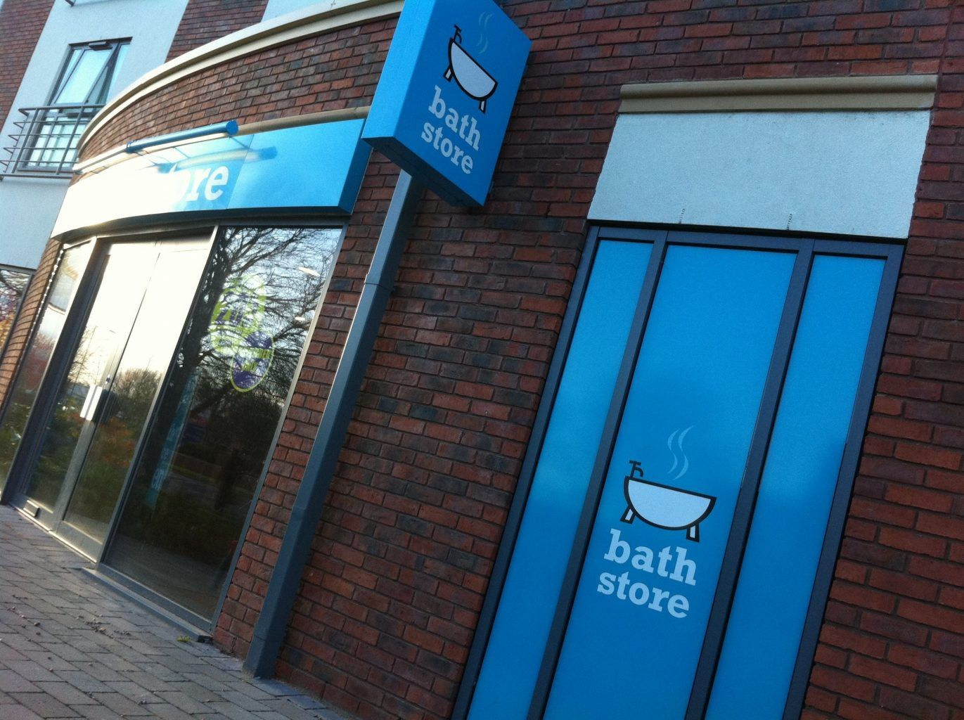 Bathstore Full Colour Digitally Printed Window Graphics