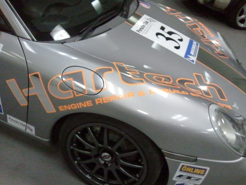Hartech Porsche Livery
