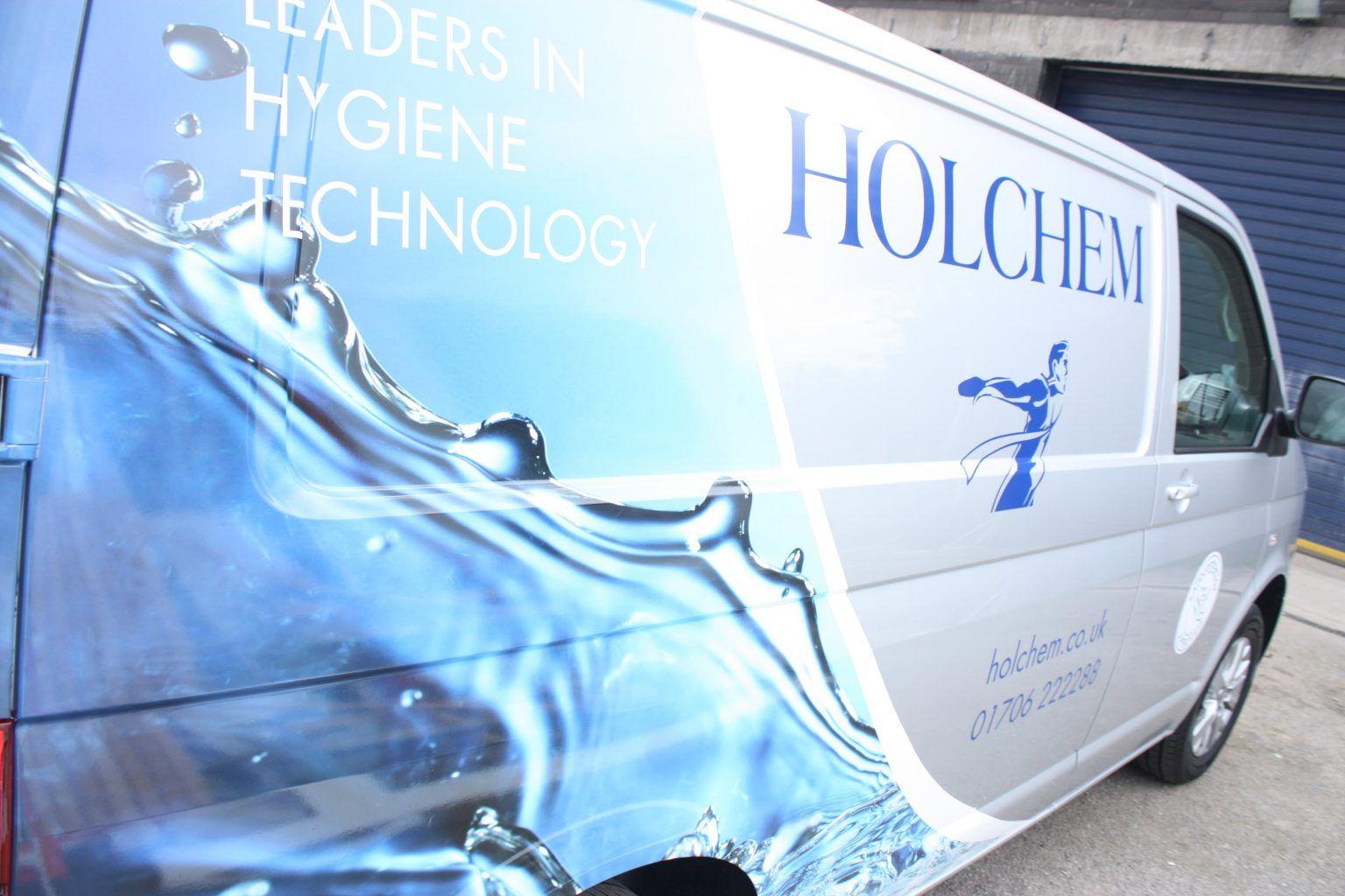 Holchem Vehicle Wrap