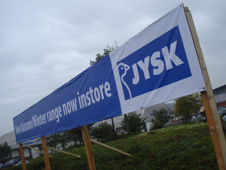 JYSK Digitally Printed PVC Banner