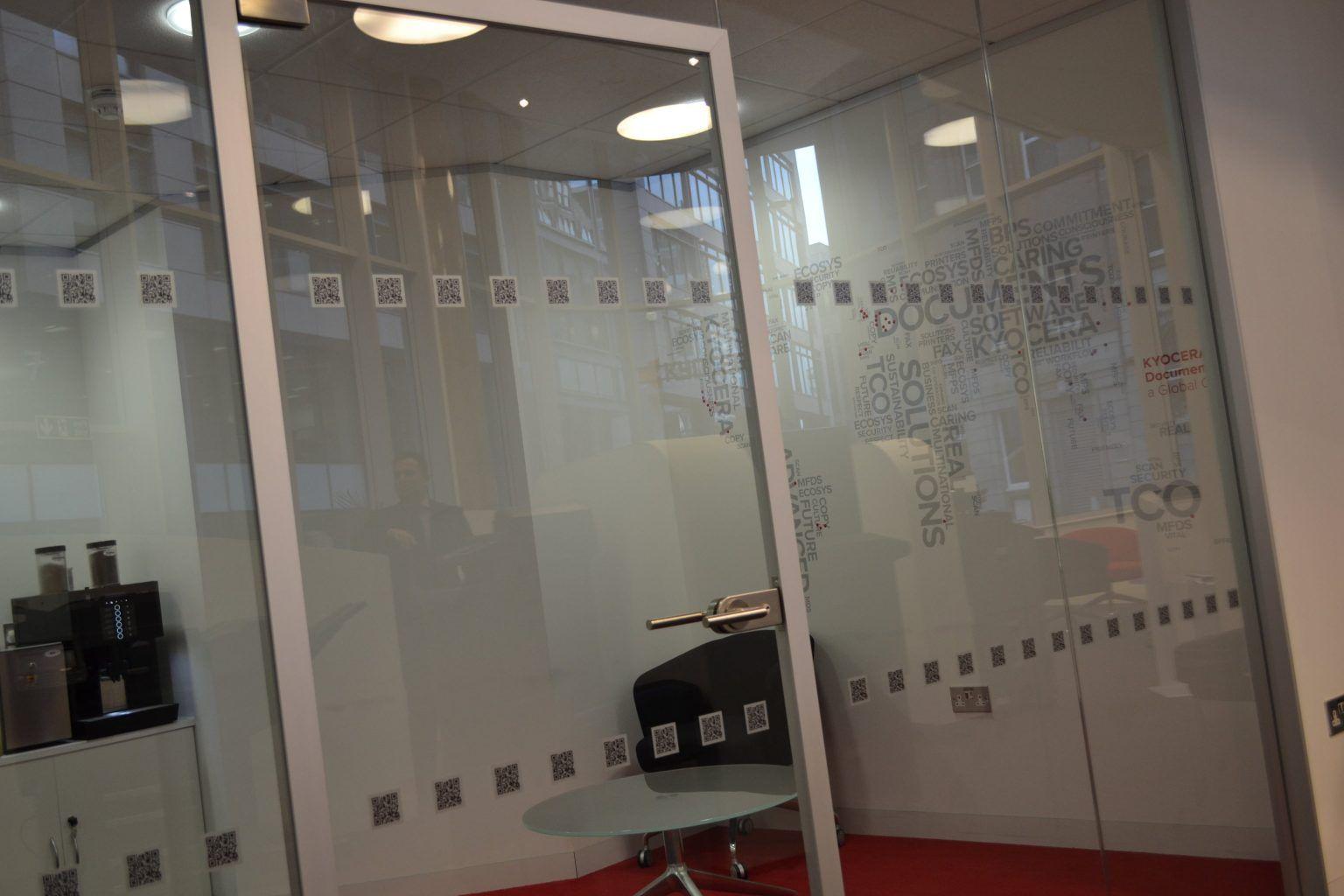 Kyocera Office & internal wall manifestations