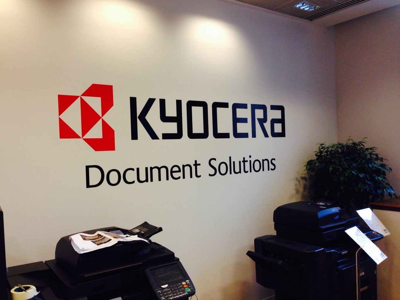 Kyocera wall graphics