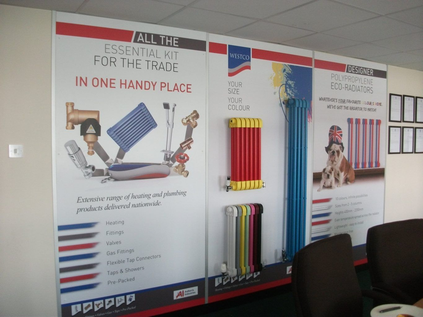 Large format Full Colour Printed Foamex Panels