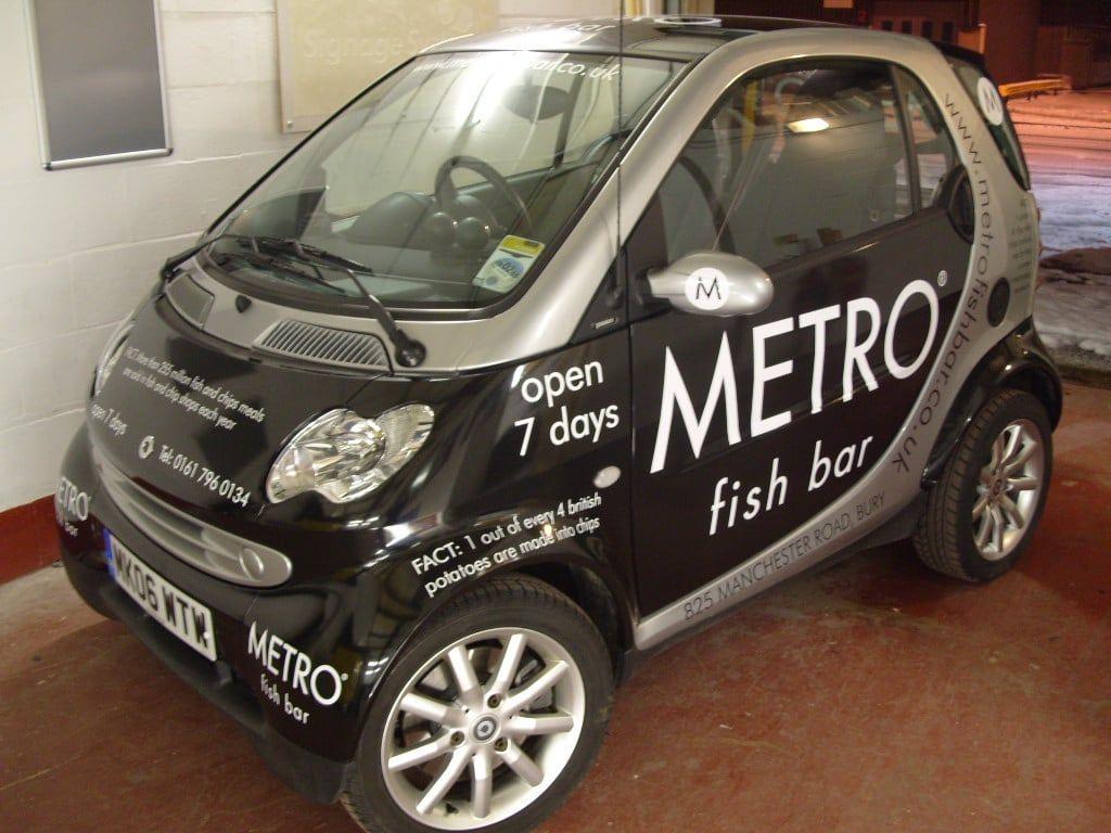 Metro Fish Bar Vehicle Livery