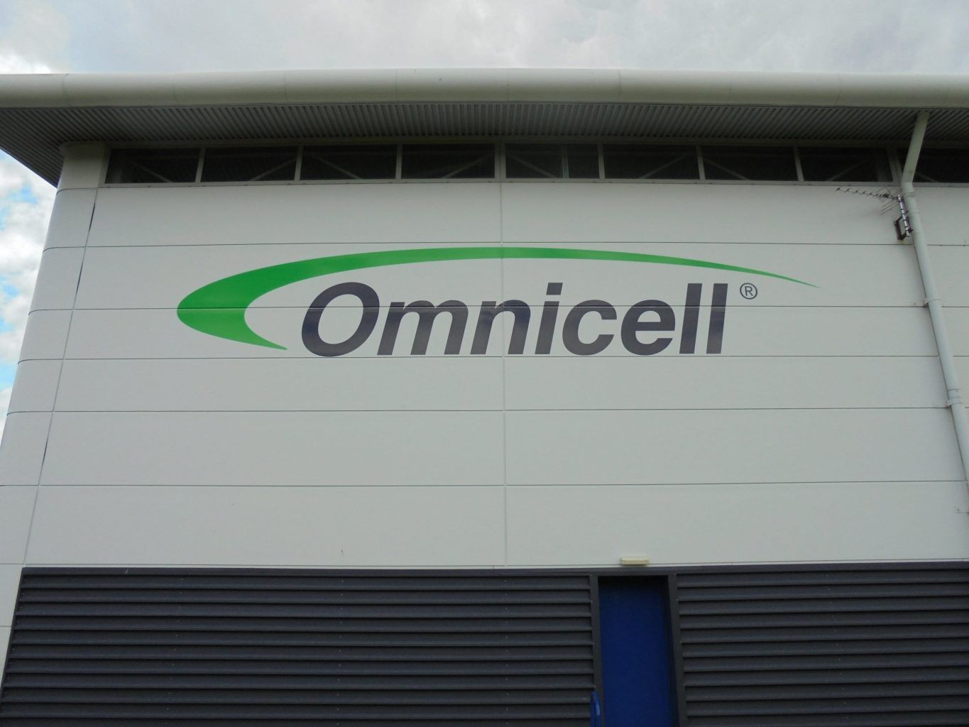 Omnicell commercial self adhesive vinyl wall graphics