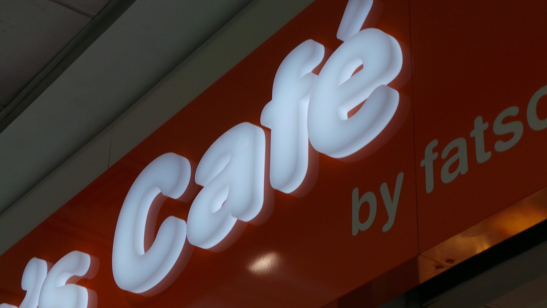 ROWNTREE CAFE ACRYLIC LETTERS