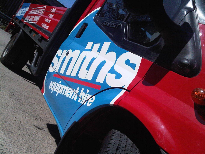 Smiths Partial Vehicle Wrap
