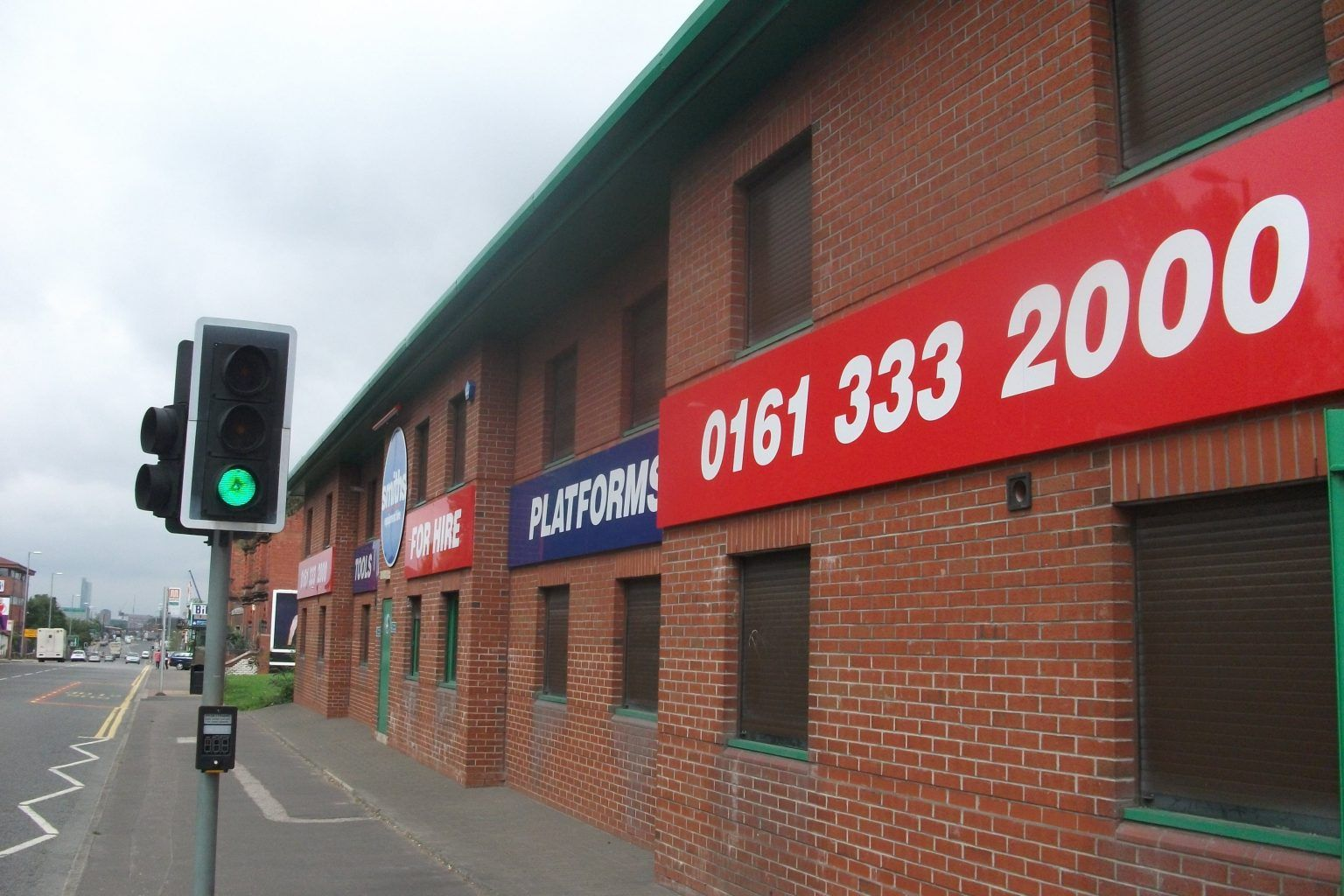 Smith's corporate site signage
