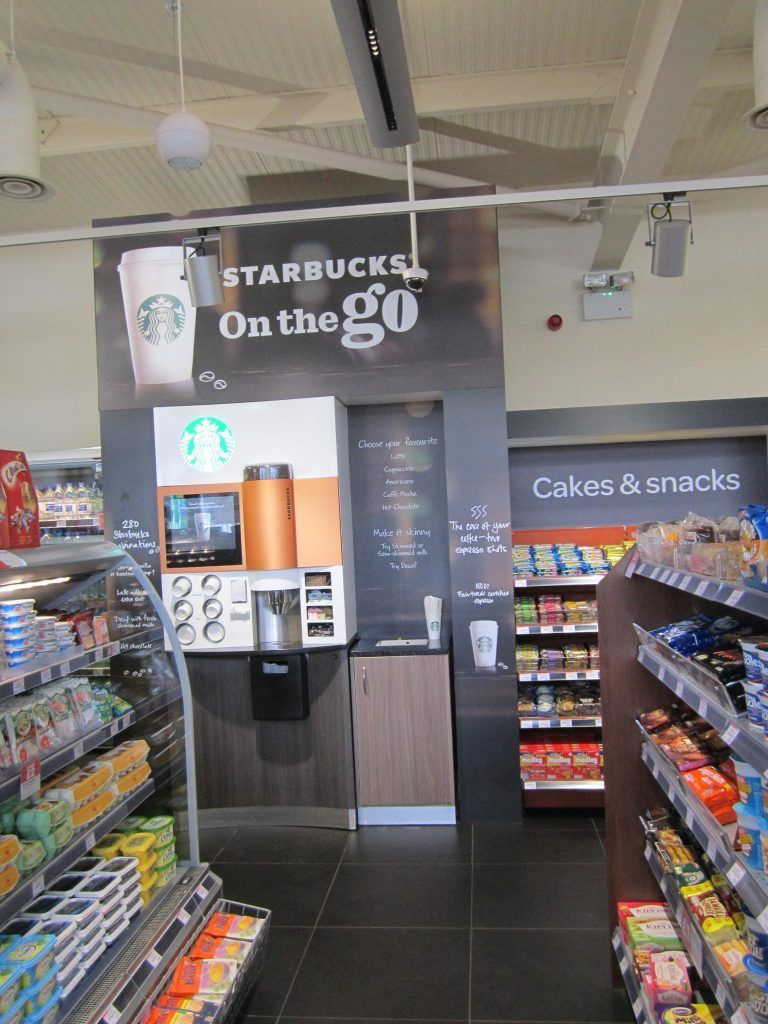 Starbucks Digitally Printed Panel