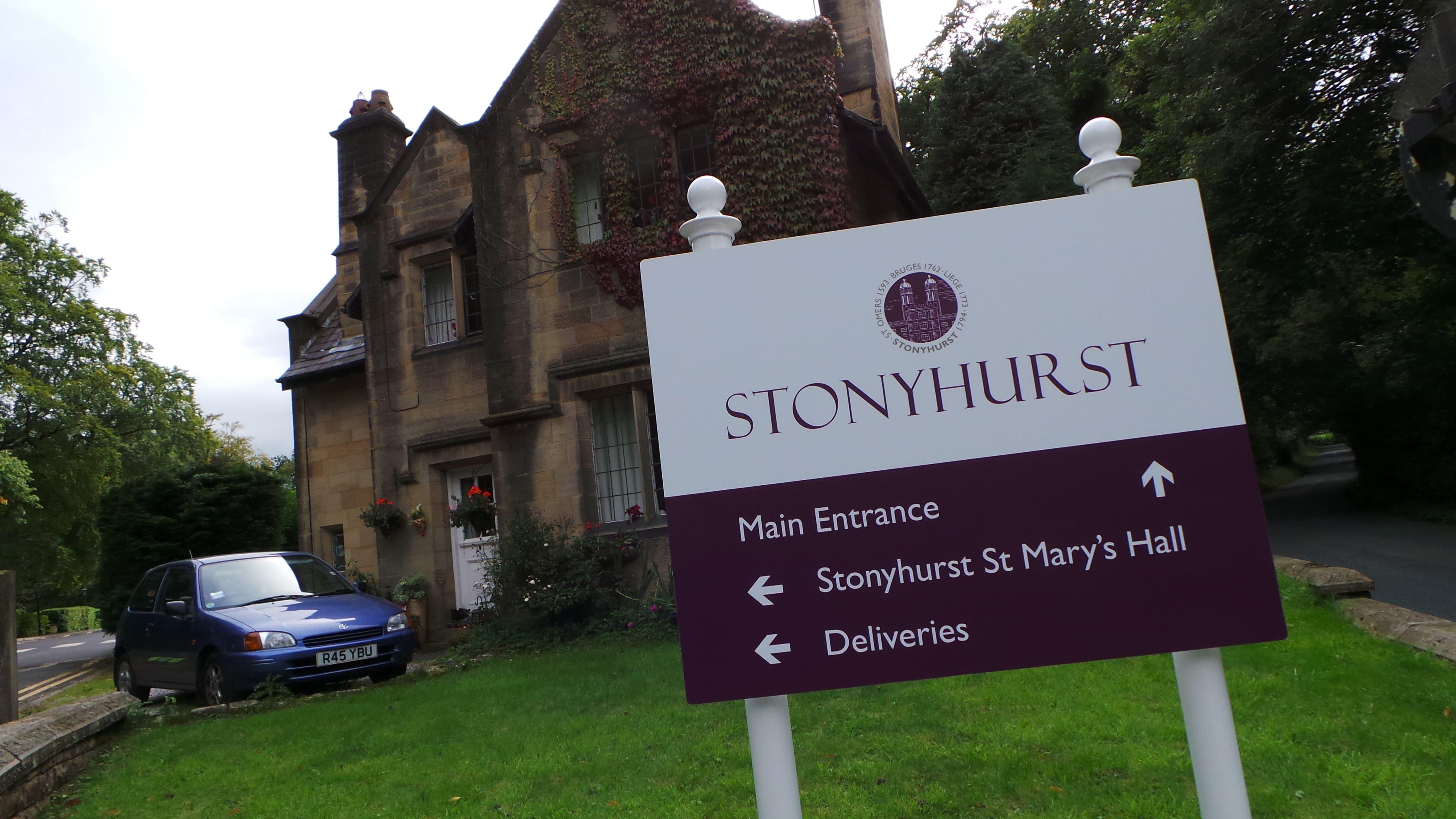 Stonyhurst Wayfinding Signage