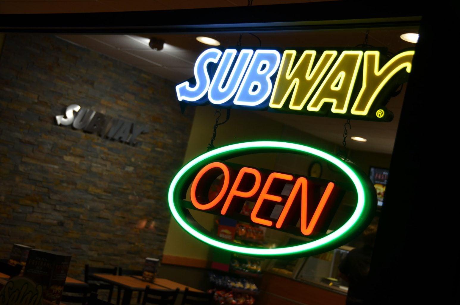 Subway Neon Signs