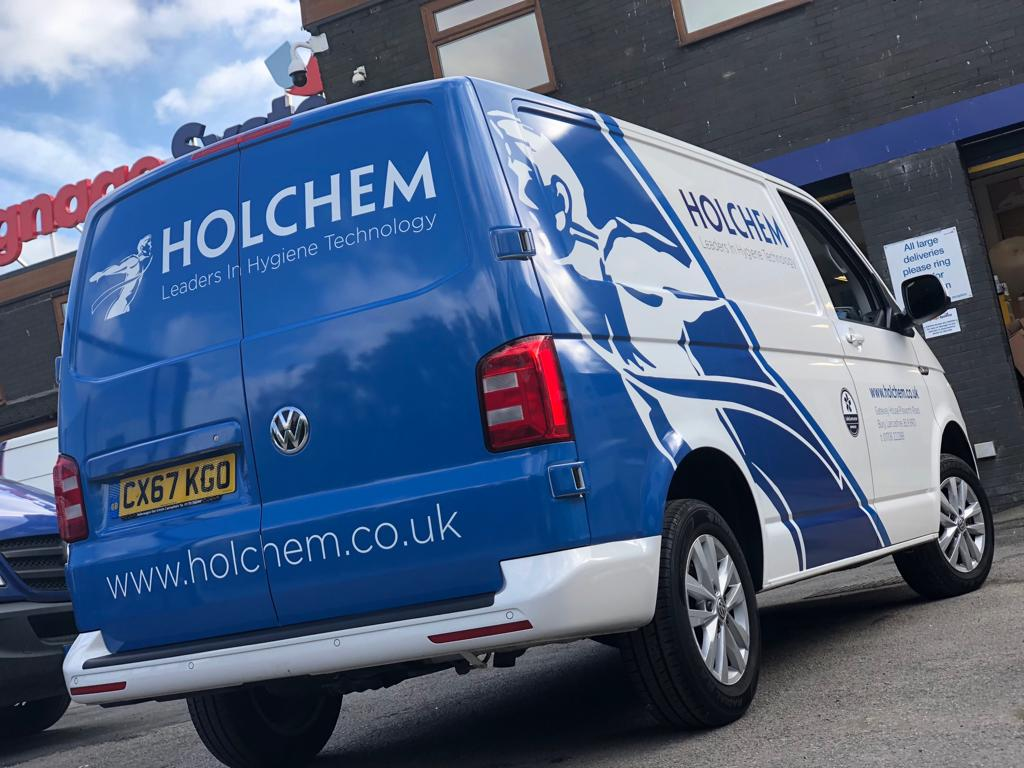 Holchem Vehicle Wrap Manchester