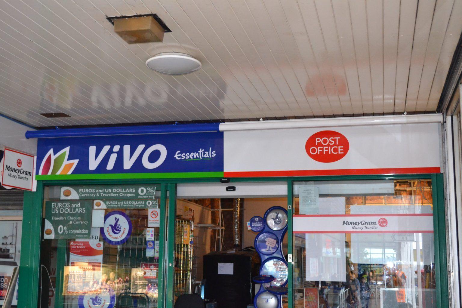 VIVO & Post Office Fascia Sign
