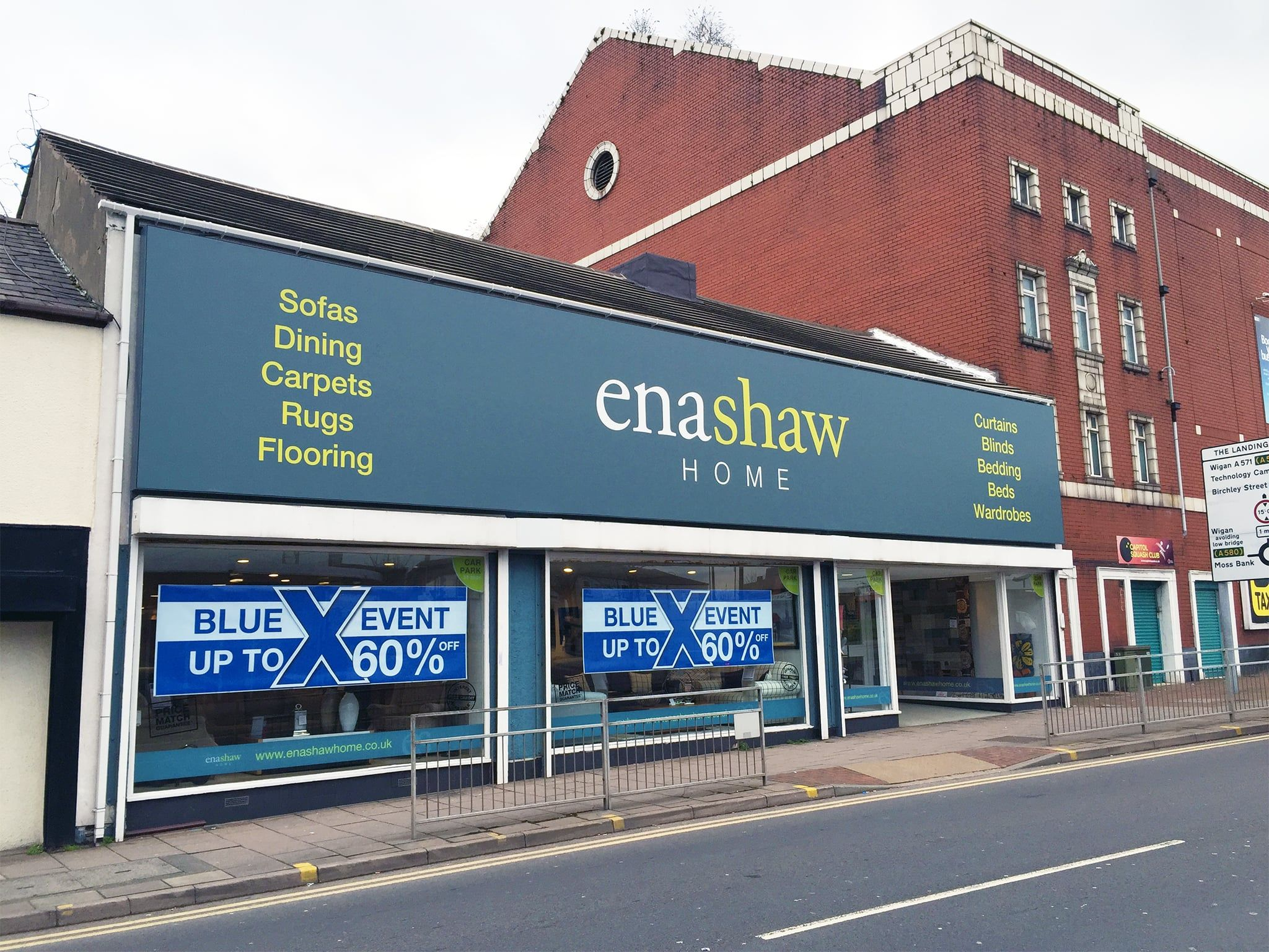 Enshaw Home signage manchester