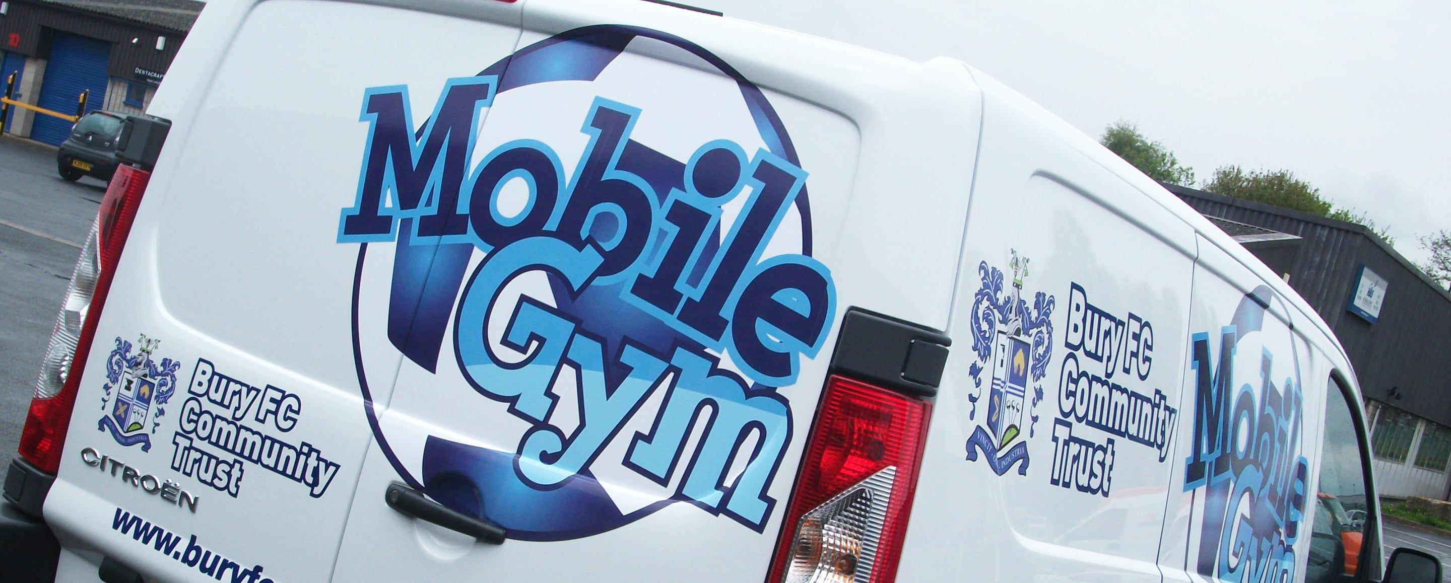 sign makers manchester, Vehicle graphics